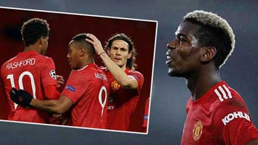Pogba: 'Rashford và Martial không có kinh nghiệm và phẩm chất như Cavani'