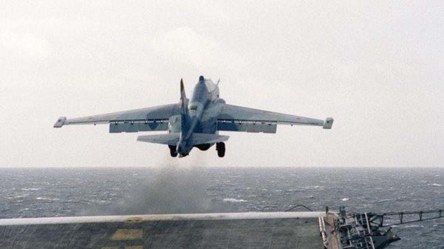 Báo Mỹ ấn tượng với dự án đóng tàu sân bay 'Varan' của Nga