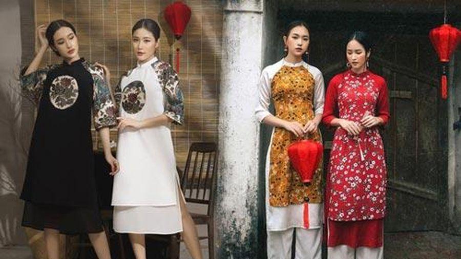 Gợi ý những mẫu áo dài diện Tết tuyệt đẹp