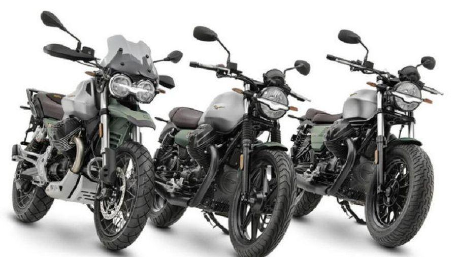 Kỷ niệm 100 năm thành lập, Moto Guzzi tung 3 phiên bản giới hạn với màu sơn đặc biệt