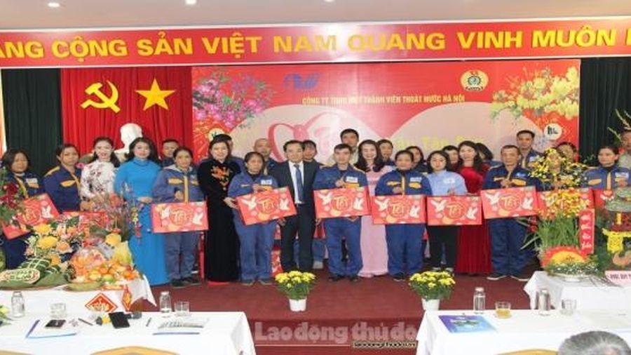 'Tết sum vầy - kết nối yêu thương' của đoàn viên Công ty Thoát nước Hà Nội