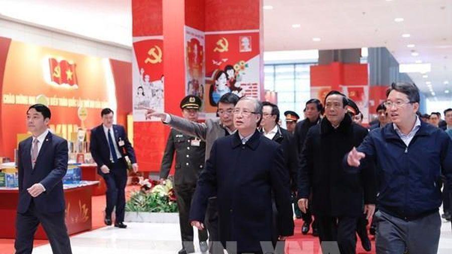 Kiểm tra công tác chuẩn bị Đại hội đại biểu toàn quốc lần thứ XIII của Đảng