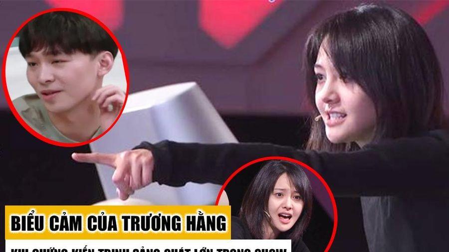Trương Hằng phản ứng khó chịu khi Trịnh Sảng liên tục quát lớn trên sóng truyền hình?