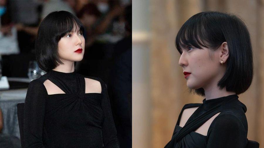 Góc 'bái phục': Chiếc đầm Hải Tú diện khi sánh đôi bên Sơn Tùng trong sự kiện bỗng 'cháy hàng' trên mạng