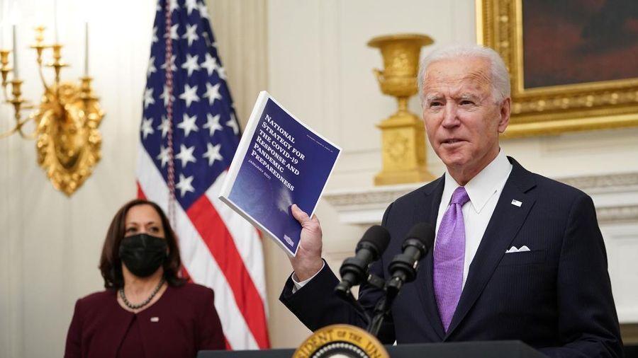Tổng thống Biden làm gì tại Nhà Trắng trong ngày đầu tiên nhậm chức?