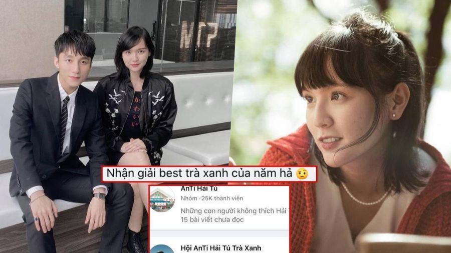 Giữa drama 'trà xanh', Hải Tú đạt giải Gương mặt đại diện giới trẻ khiến dân mạng rần rần phản đối