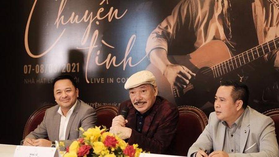 Nhạc sỹ Trần Tiến hát 'Chuyện tình' sau tin đồn qua đời