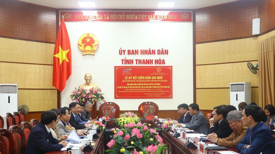 UBND tỉnh Thanh Hóa làm việc với Tập đoàn AVG Capital Partners, Liên bang Nga
