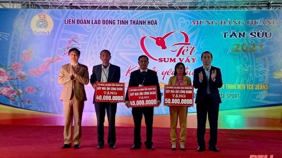 'Tết sum vầy - Kết nối yêu thương' cho đoàn viên, người lao động huyện Hoằng Hóa