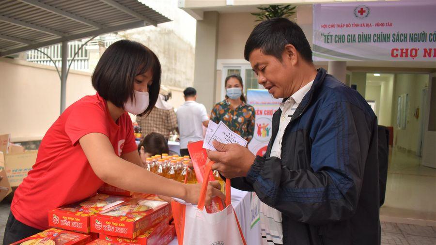 'Chợ nhân đạo' cho gia đình chính sách người có công