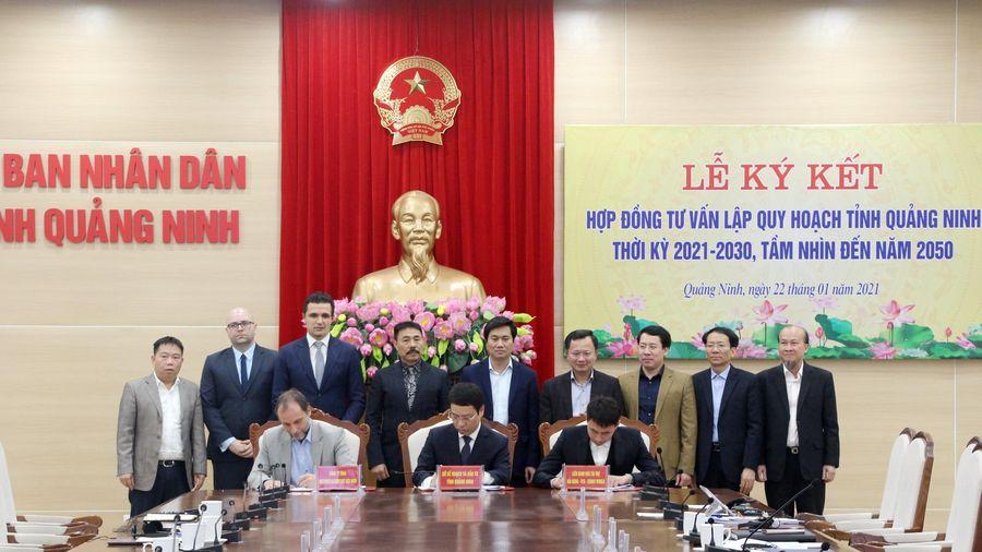 Ký kết hợp đồng tư vấn lập quy hoạch tỉnh Quảng Ninh thời kỳ 2021-2030, tầm nhìn 2050