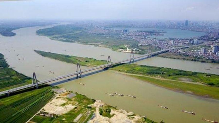 Hà Nội sắp quy hoạch 2 bờ sông Hồng