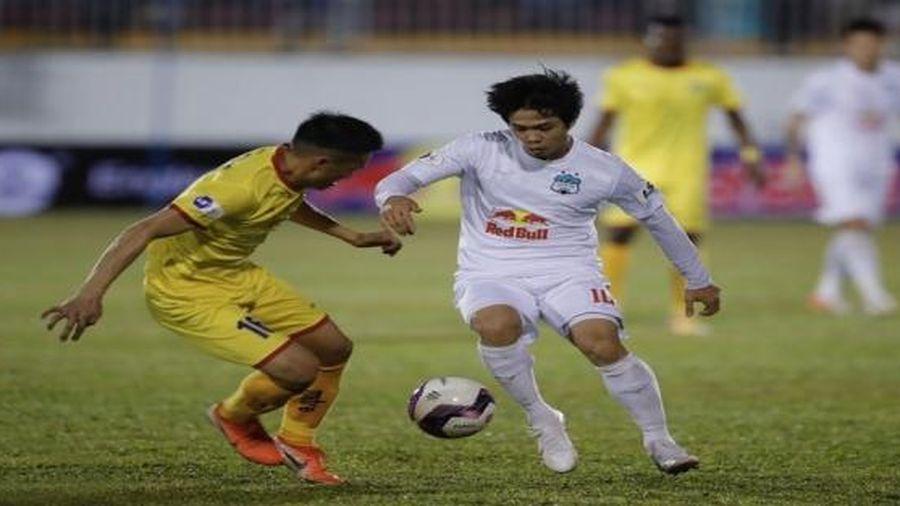 Kết quả, Bảng xếp hạng V-League 2021 (22/1): HAGL thắng trận đầu tiên