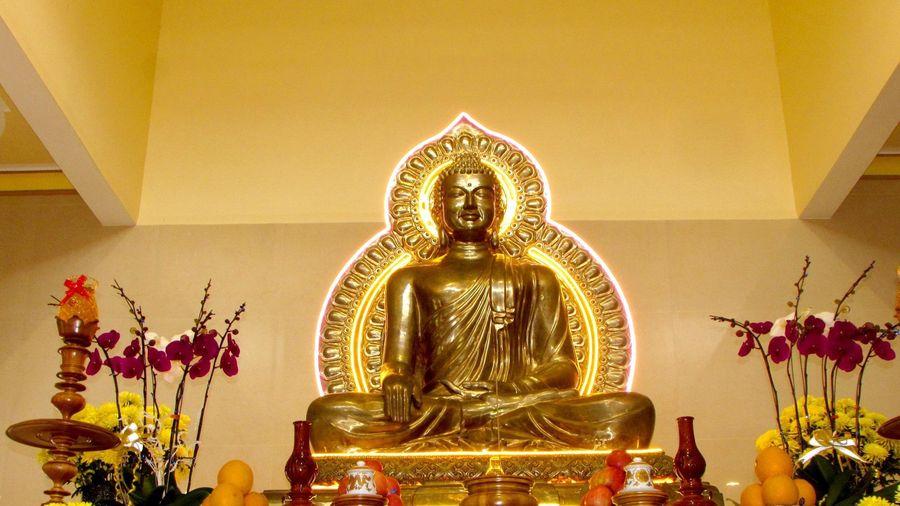 Khánh Hòa: Lễ an vị Phật tại chùa Sắc tứ Kim Sơn