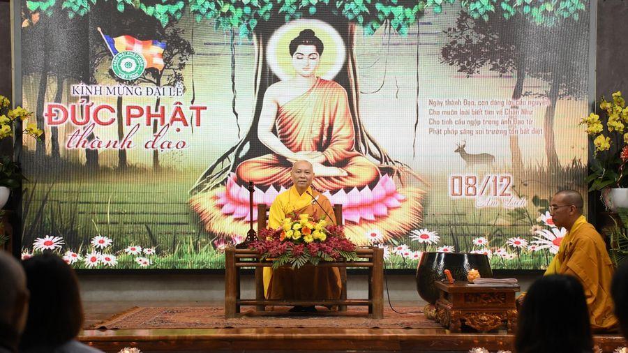 Chùa Hòa Phúc tổ chức đêm hoa đăng mừng Phật thành đạo