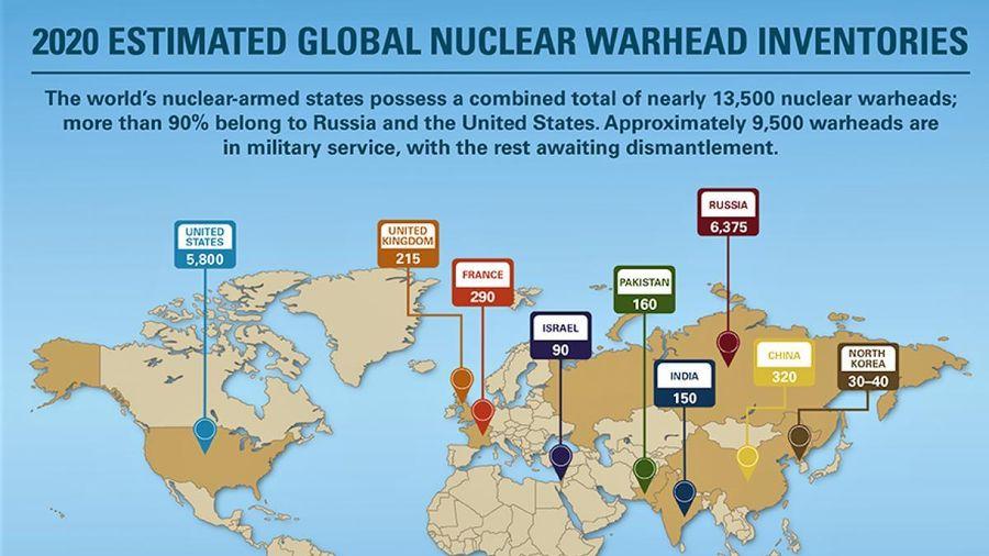 Nam Phi - Quốc gia duy nhất từ bỏ vũ khí hạt nhân của mình