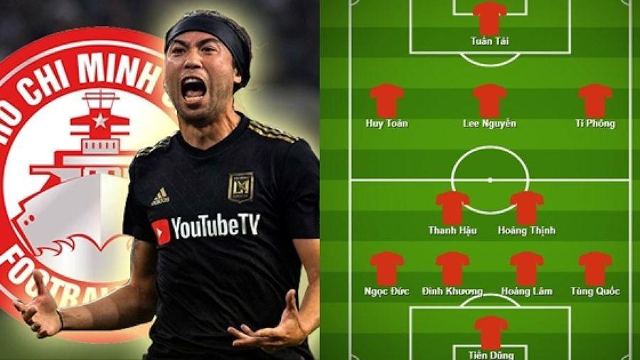 Lee Nguyễn và đội hình nội binh 'sao số' của TPHCM ở V-League 2021