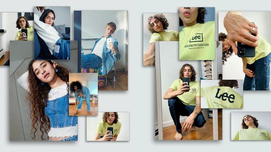 Mãn nhãn với những sáng tạo denim bền vững ấn tượng từ BST hợp tác Lee x H&M
