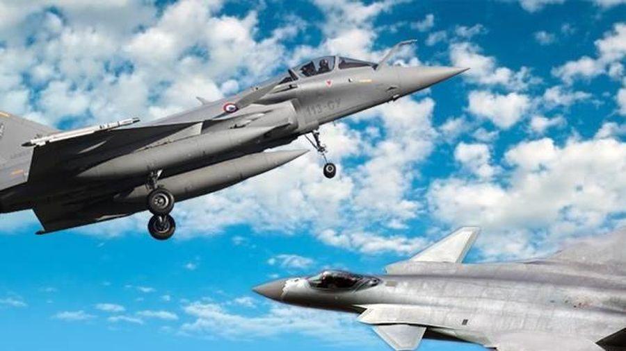 Chuyên gia Ấn: Tiêm kích Rafale dễ dàng diệt 'siêu' máy bay J-20 của Trung Quốc