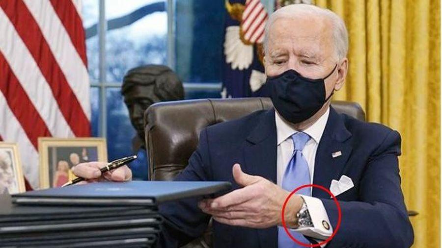 Chiếc đồng hồ của tân Tổng thống Joe Biden có gì đặc biệt mà tất cả mọi người đều nói đến?