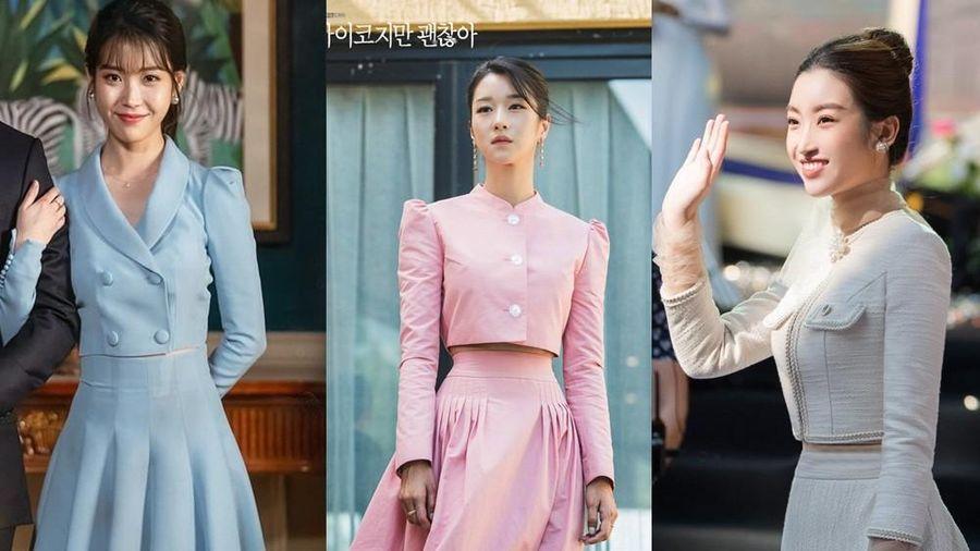 Váy cạp cao khoe eo thon như Seo Ye Ji đang thành chân ái của sao K-Biz lẫn V-Biz