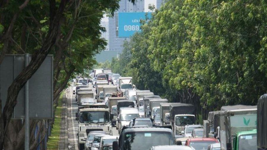 Điều chỉnh giao thông trên đường Mai Chí Thọ
