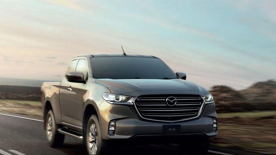 Mazda BT-50 đời 2021 chính thức được bán tại Thái Lan