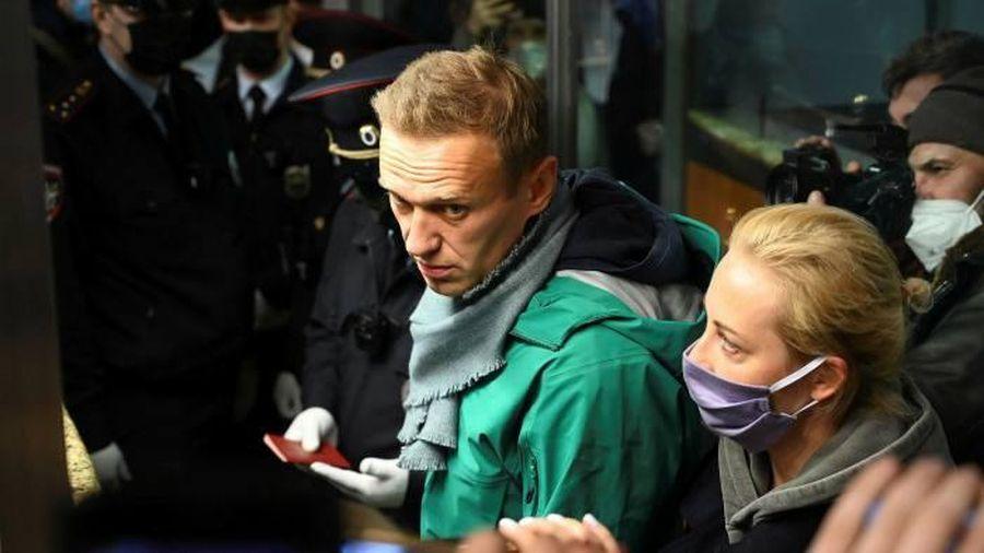 Vợ ông Navalny bị bắt
