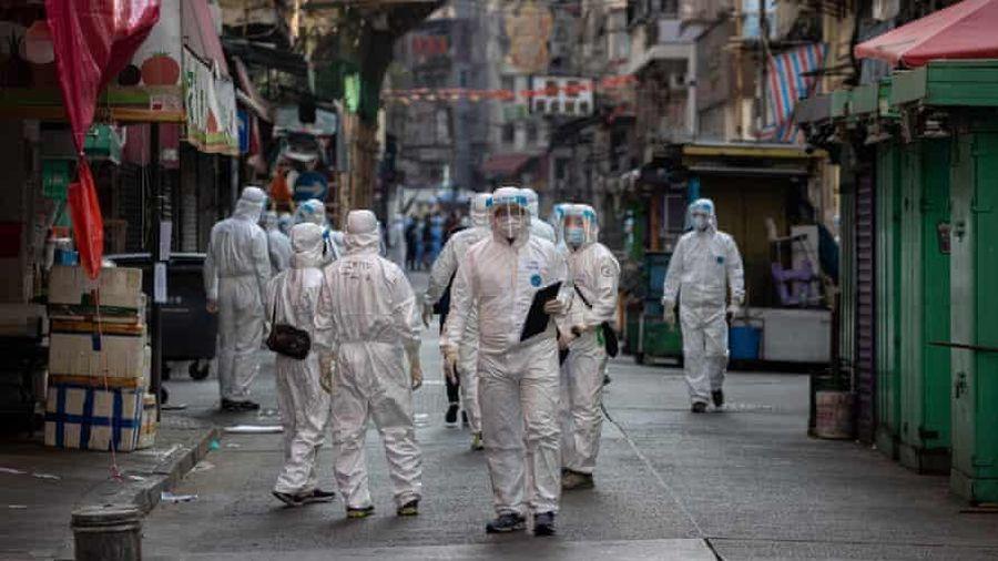 Hong Kong phong tỏa khu có 10.000 dân ở bán đảo Cửu Long