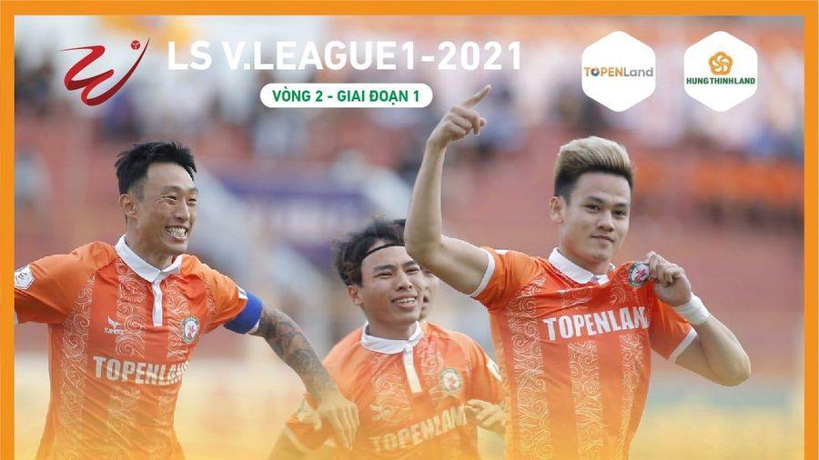 V.League 2021: Quá nhiều bất ngờ xảy ra