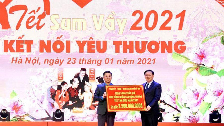 Hà Nội tổ chức ' Tết sum vầy, kết nối yêu thương'