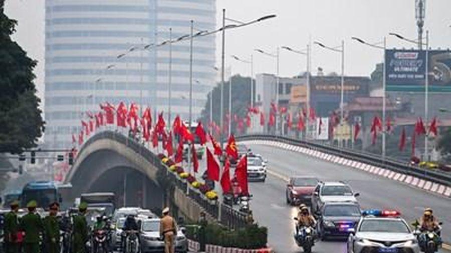 Nhiều phương án bảo đảm giao thông phục vụ Đại hội lần thứ XIII của Đảng