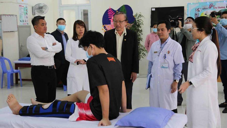 Bệnh viện 199 ký kết hợp tác Trung tâm Huấn luyện thể thao quốc gia Đà Nẵng