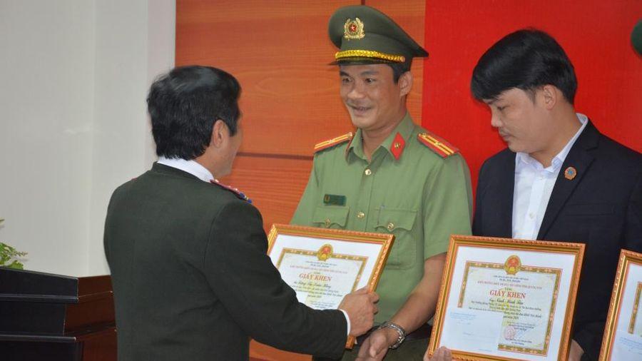 Công an tỉnh Quảng Nam dẫn đầu khối thi đua Nội chính