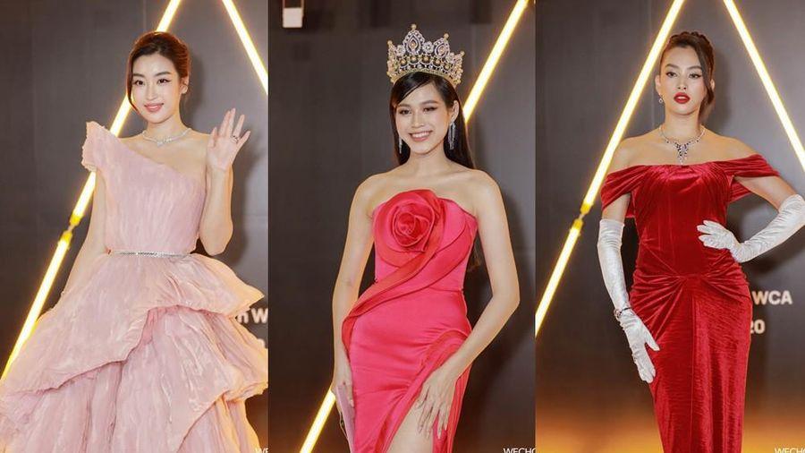Ngắm Hoa hậu Đỗ Thị Hà và dàn cựu Hoa hậu khoe dáng xinh như mộng trên thảm đỏ