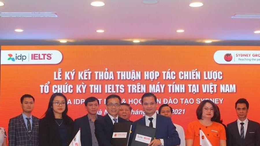 'Mở bài thi' IELTS trên máy tính tại Việt Nam
