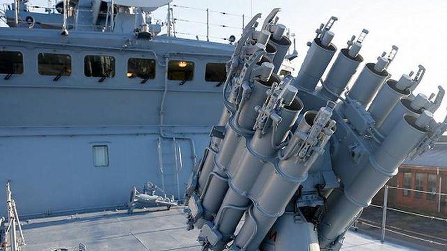 Hạm đội Biển Đen được tăng cường sức mạnh với tàu tên lửa Graivoron