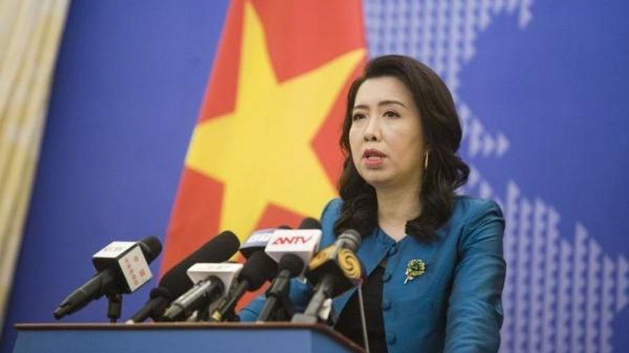 Bộ Ngoại giao lên tiếng về việc EP thông qua Nghị quyết về tình hình nhân quyền Việt Nam
