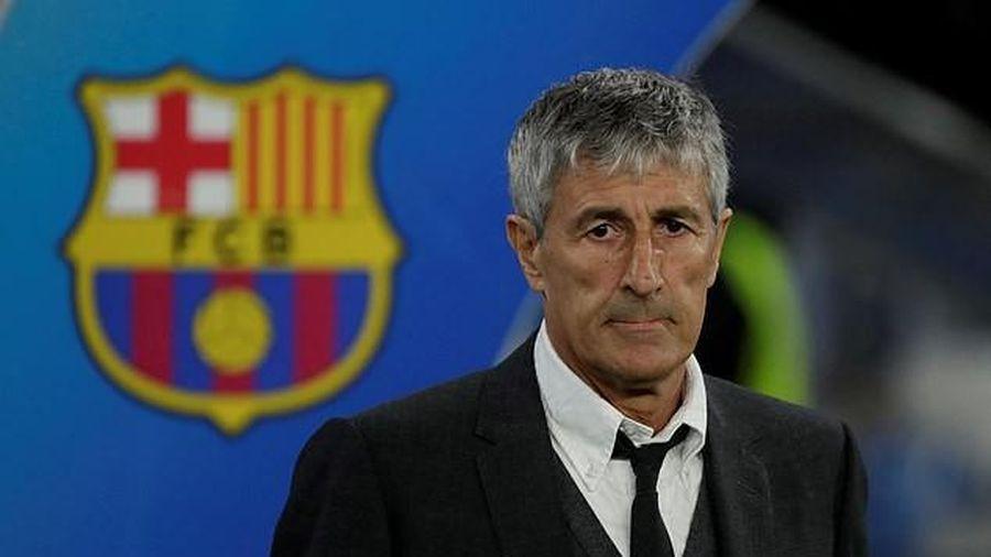 Barcelona bị HLV Quique Setien khởi kiện vì quỵt tiền