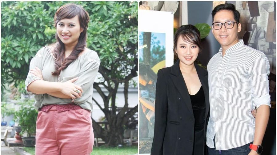 Ca sĩ Khánh Linh: 'Ông xã ở bên động viên khi tôi béo, xấu xí nhất'