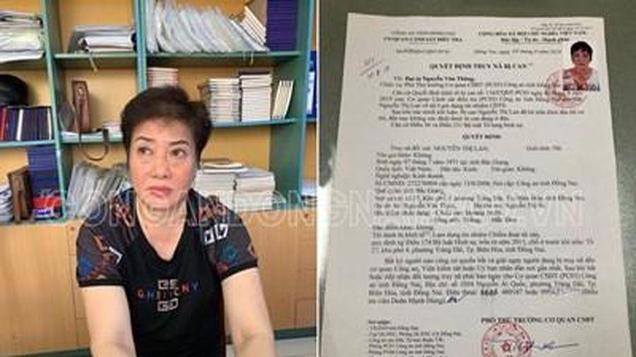 Công an tỉnh Đồng Nai bắt giữ đối tượng truy nã đặc biệt nguy hiểm