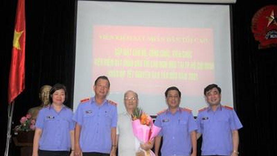 Gặp mặt, chúc Tết nguyên cán bộ, công chức VKSND tối cao tại TP Hồ Chí Minh