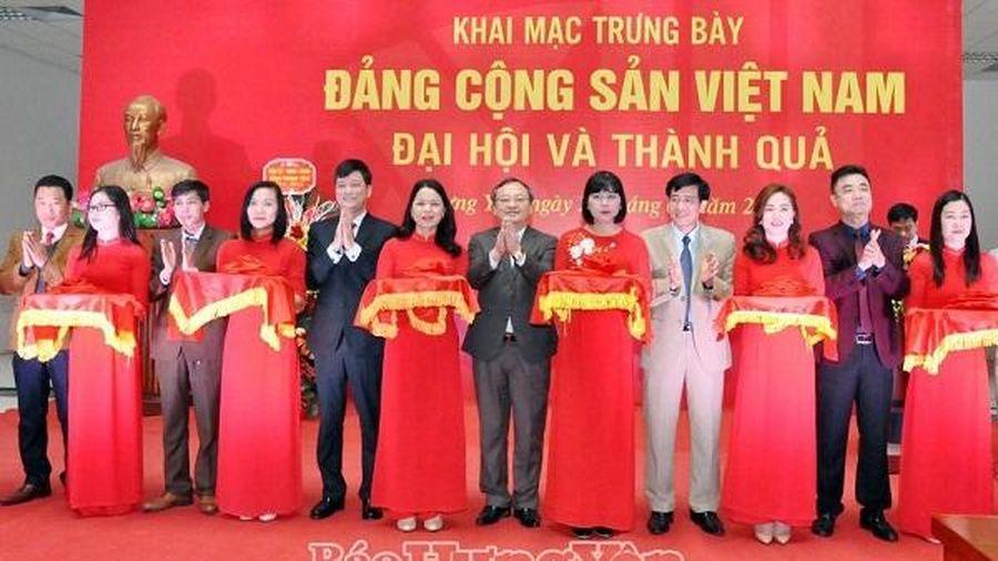 Triển lãm 'Đảng Cộng sản Việt Nam - Đại hội và thành quả'