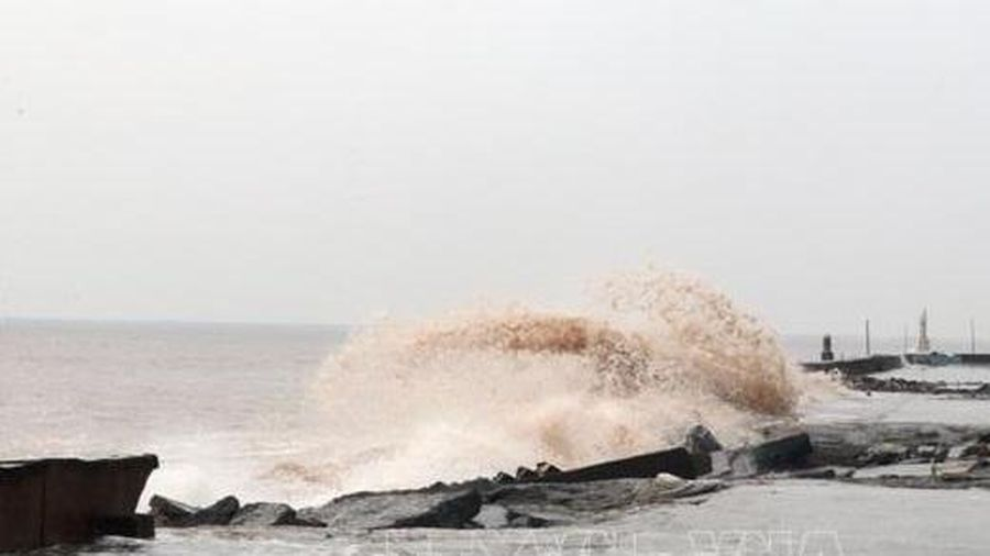 Đêm 23/1, vùng giữa Biển Đông, quần đảo Trường Sa có mưa dông, khả năng lốc xoáy và gió giật mạnh