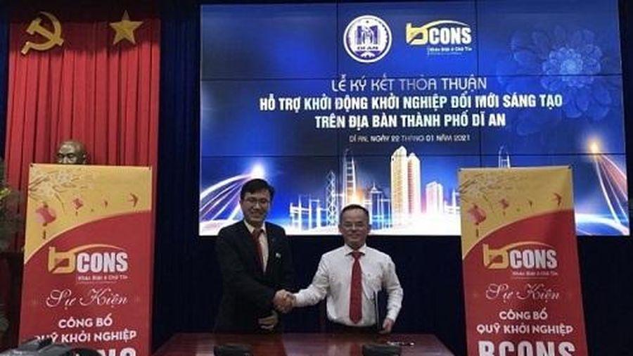 Bcons tài trợ 1 triệu USD để TP.Dĩ An phát triển khởi nghiệp đổi mới sáng tạo