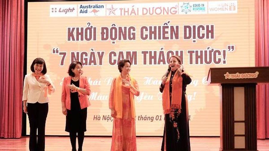'7 Ngày Cam thách thức!' – Chiến dịch phòng chống bạo lực với phụ nữ, trẻ em