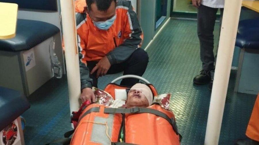 Cứu thành công thuyền viên bị đa chấn thương, hôn mê ngoài biển