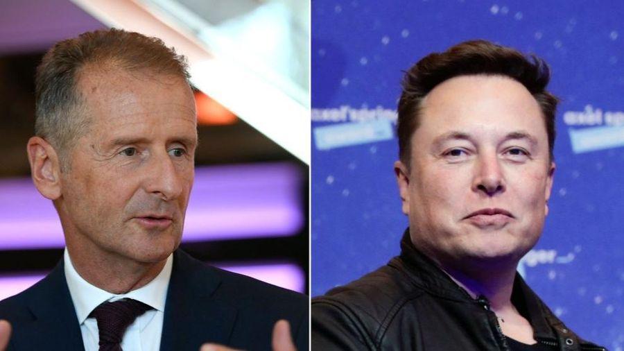 Vừa chân ướt chân ráo lên Twitter, CEO Volkswagen đã nhanh tay 'cà khịa' Elon Musk