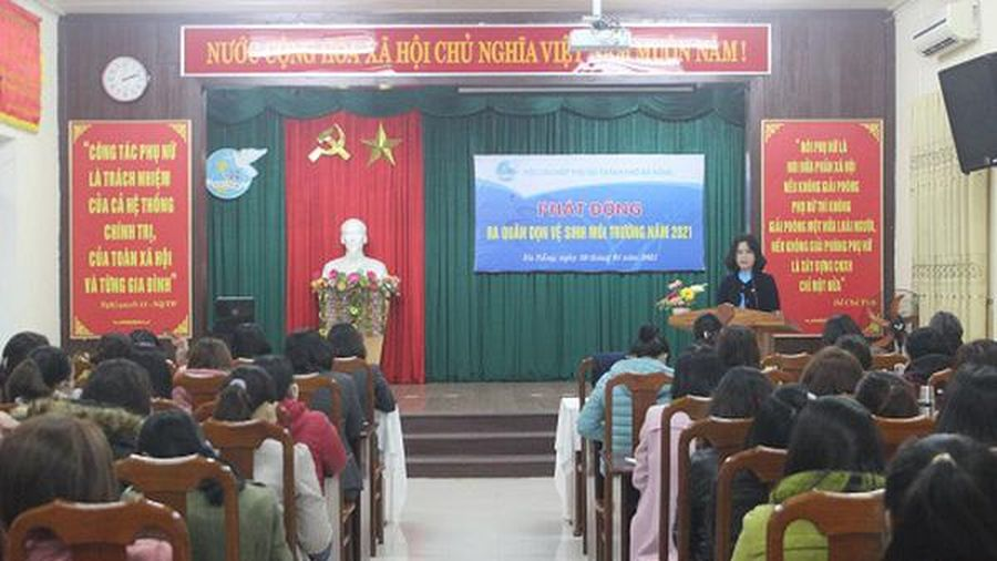 Đà Nẵng: Phát động ra quân dọn vệ sinh môi trường năm 2021
