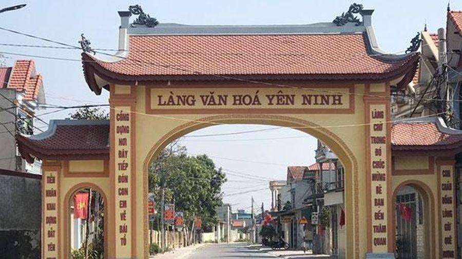 Huyện Nga Sơn đẩy mạnh phong trào toàn dân đoàn kết xây dựng đời sống văn hóa